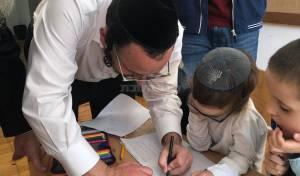 ילדי בית היתומים הפתיעו את ליפא • צפו