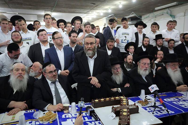 ליל הבחירות, ב-2015 (Yaakov Naumi/FLASH90)
