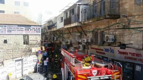 צילום: אריק אבולוף כבאות והצלה ירושלים