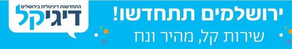 פרסום הקמפיין באתר עיריית ירושלים. צילום מסך (צילום:  Miriam Alster/Flash 90)