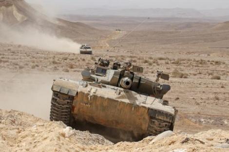 טנק. ארכיון  (צילום פלאש 90)