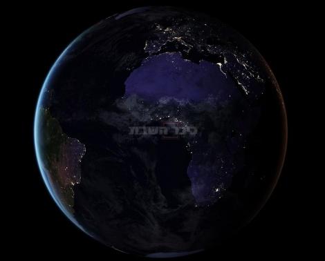 אירופה המוארת ואפריקה החשוכה