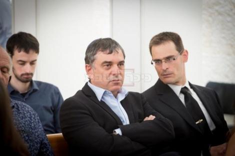 פילבר בבית המשפט (צילום: Miriam Alster/FLASH90)