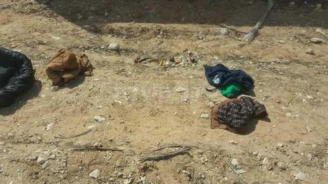 חלק מהתחמושת שהיתה ברשות המחבלים (צילום: דוברות המשטרה)