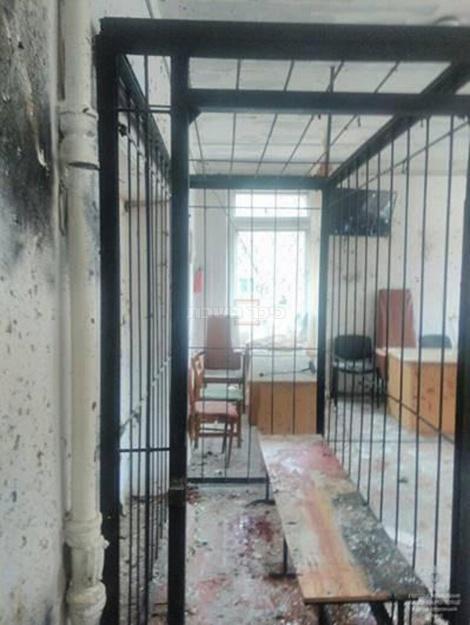תא הנידונים אחרי הפיצוץ