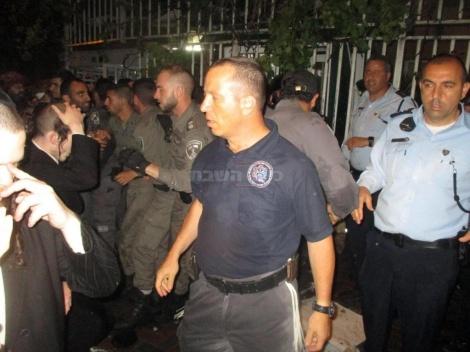 העימותים עם השוטרים