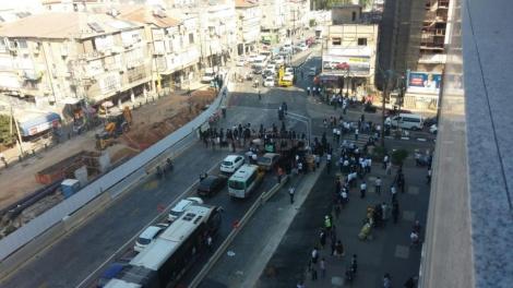 ההפגנה בבני ברק (באדיבות המצלם)