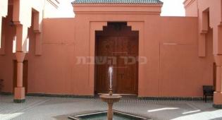 כשיתד תקף, הרב אמסלם ביקר במרוקו