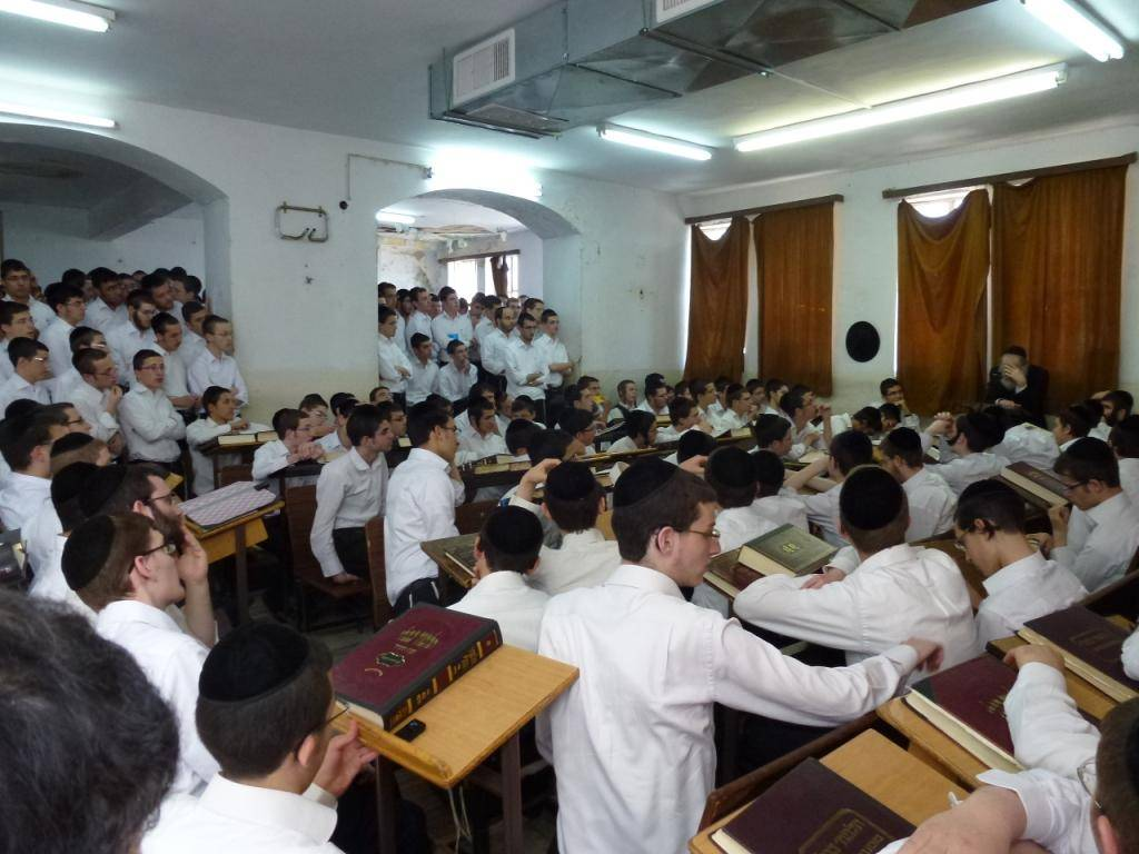 (צילום: באדיבות אחד מתלמידי הישיבה)