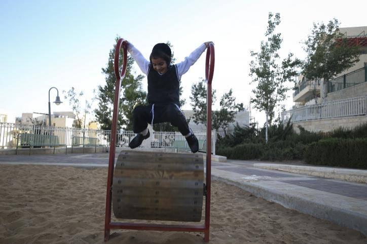 מתקנים בפארק חינמיים לחלוטין. אילוסטרציה. צילום: Nati Shohat/Flash90