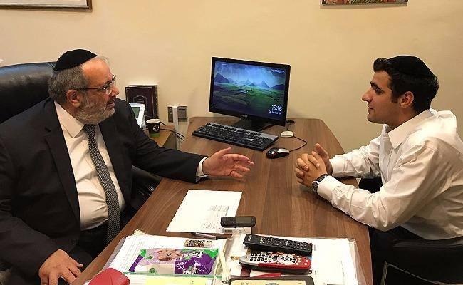 מזכ''ל ש''ס יגאל גואטה בראיון לכתב כיכר השבת ישי כהן