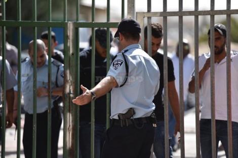 השוטרים נערכים,  צילום: דוברות המשטרה