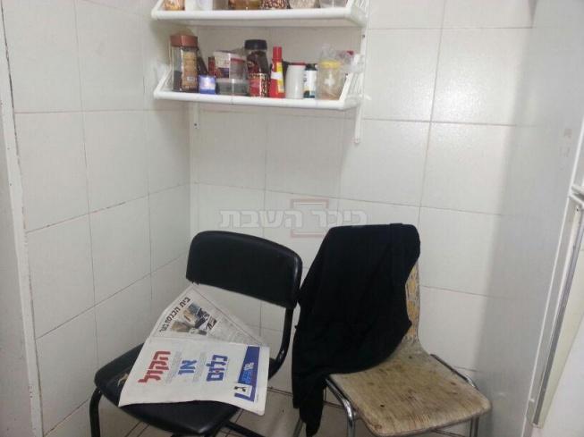 עיתון המפלגה - גם במטבח הישיבה