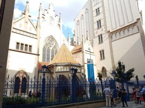 בית הכנסת האשכנזי -מבט מבחוץ