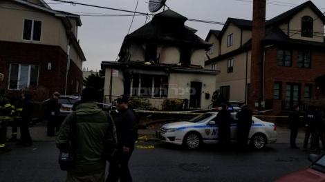 הבית השרוף, הבוקר (שעון מקומי)