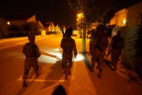 """]עילות כוחות צה""""ל בעקבות הטבח (צילום: דובר צה""""ל)"""