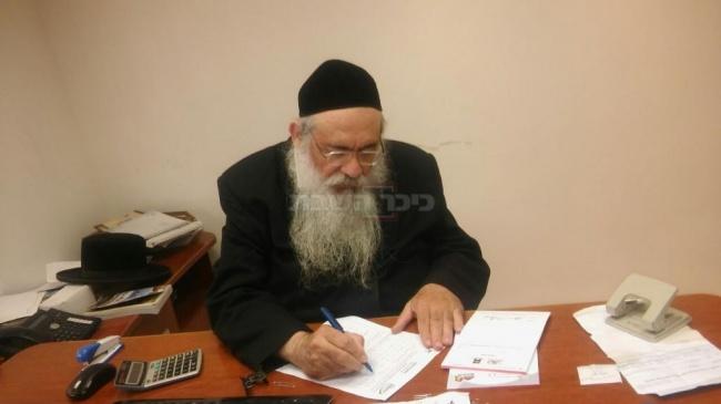 """הרב ישראל משה פרידמן מנכ""""ל תודעה"""