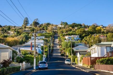רחוב בולדווין, דנידין, ניו זילנד (צילום: shutterstock)