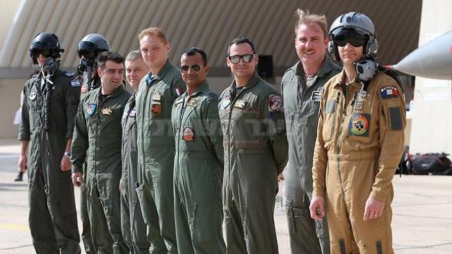 חילות אוויר משמונה מדינות משתתפים בתרגיל (צילום: שאול גולן, ynet)
