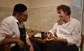 השף תום פרנץ בפלאפל בן יעקב