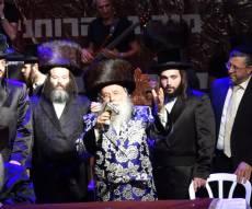 מישקולץ: 50 אלף איש בשמחה הגדולה בישראל