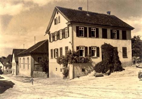 בית הכנסת בעיר אוכברג גרמניהHochberg, Germany, A synagogue.