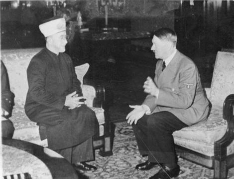 היטלר והמופתי בפגישה