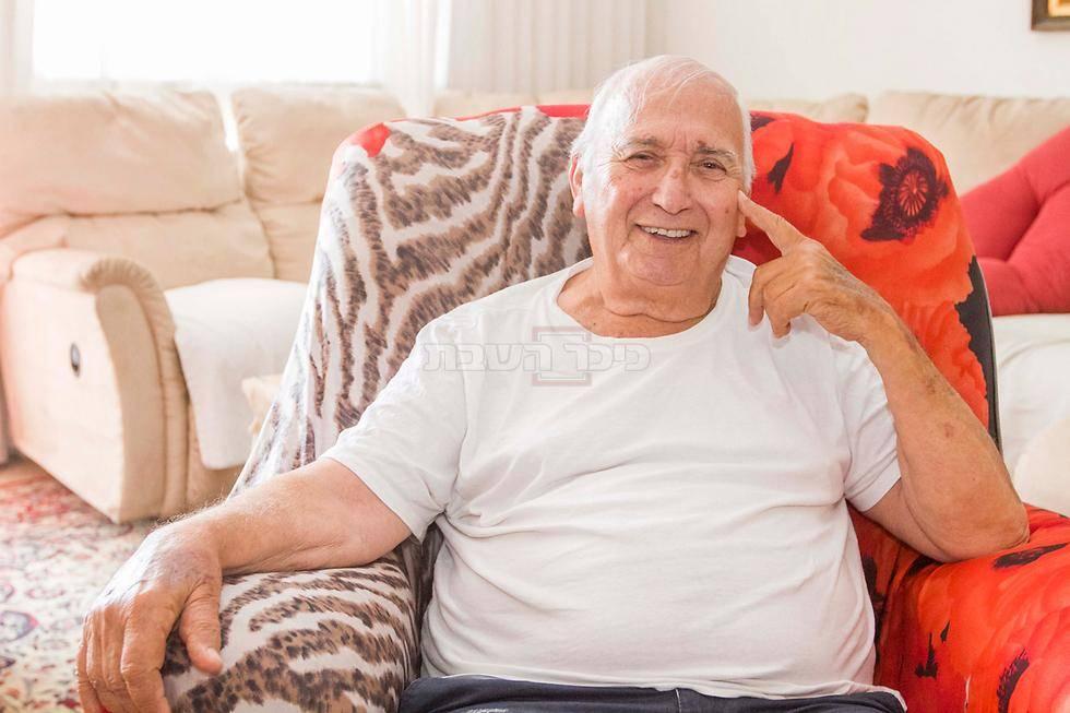 הקשיש שנשדד (צילום: מתוך ynet)