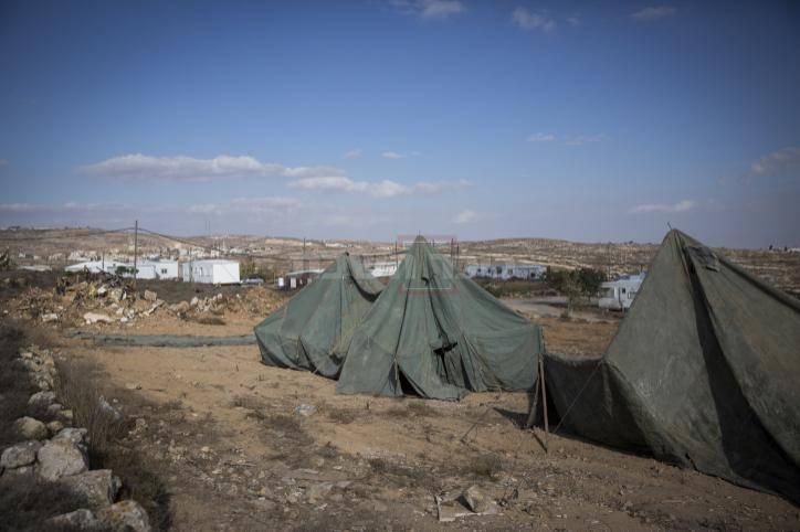 האוהלים שנבנו