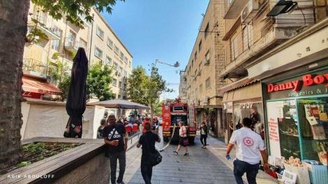 (צילום: אריק אבולוף, כבאות והצלה מחוז ירושלים)
