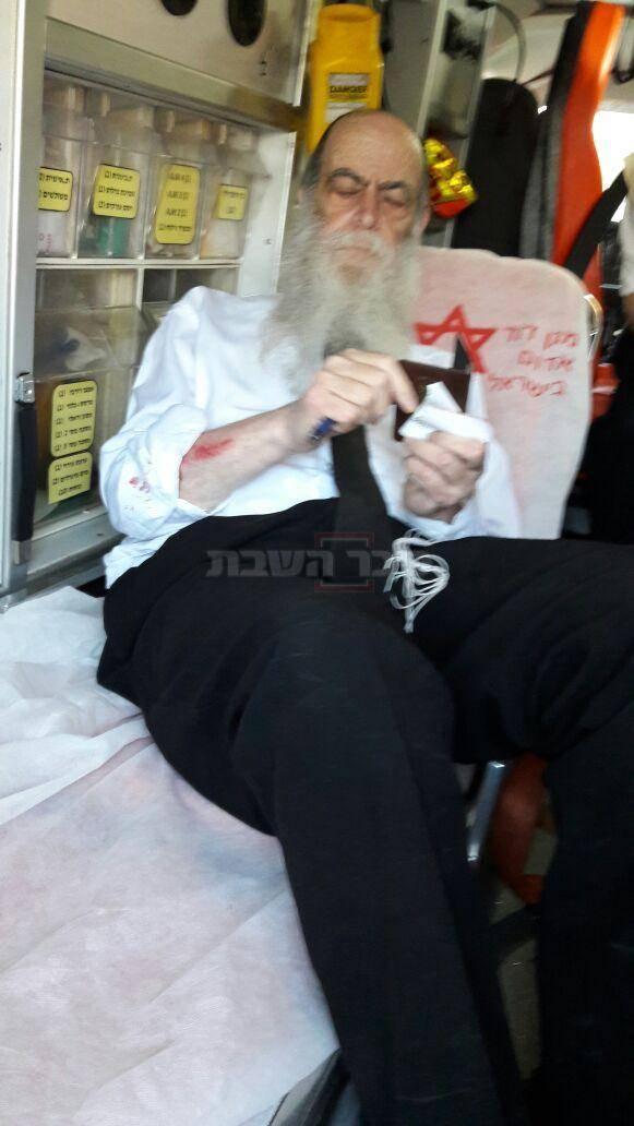 ראש הישיבה הרב ברוידא מטופל מפציעתו