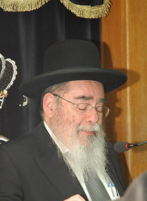 ראש הישיבה הגאון רבי אברהם סלים