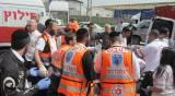 תמונות אסון: חרדי נהרג בתאונה באשדוד