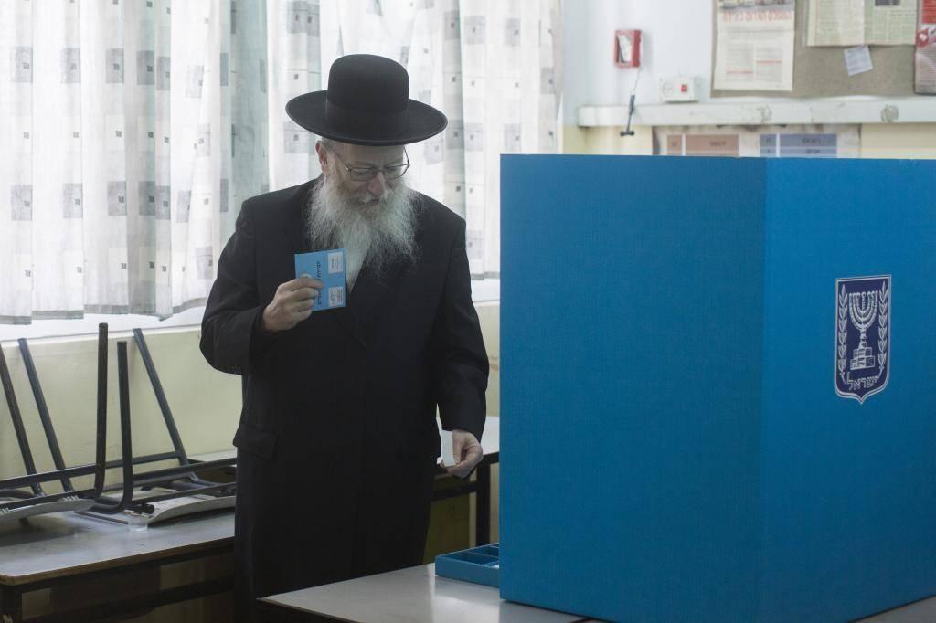 טוען שלא הולכים לבחירות. יעקב ליצמן (יונתן זינדל, פלאש 90)