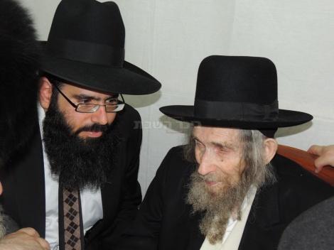 הרב שטיינמן עם מכאל קקון