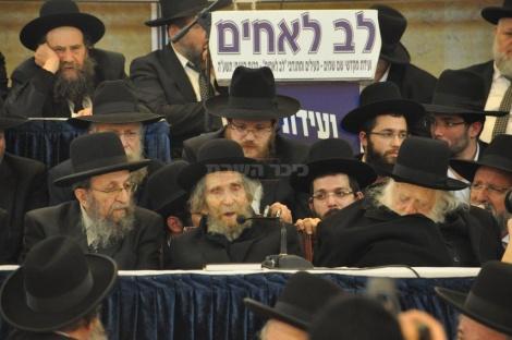 בכינוס לב לאחים (צילום: יהודה פרקוביץ')