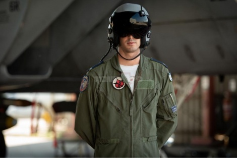 מפקד הטייסת ״אבירי הזנב הכפול״