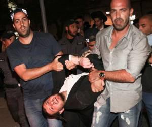 """""""מתנכלים לעצורים"""": ערב """"יום הזעם"""": צעירי הפלג הירושלמי מתפרעים בי-ם"""
