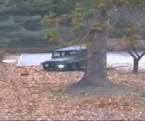מרדף ג'יפים וריצה: ערק מצפון קוריאה, נורה והצליח לברוח • צפו