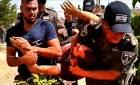 עצורים ופצועים: תיעוד: עימותים אלימים בפינוי תפוח מערב (1)