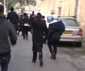 בפשיטה במאה שערים: 8 עצורים על רקע הקטטות ב'שול' הברסלבאי