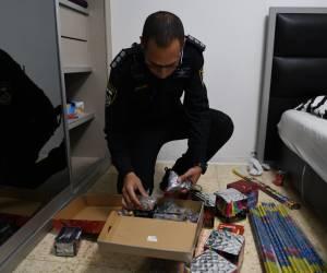 לקראת פורים: תיעוד: פעילות המשטרה נגד מוכרי נפצים
