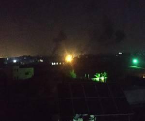 התגובה לירי מהרצועה: הסלמה בדרום: חיל האוויר תקף מחנה של החמאס בעזה