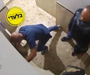 התנכלות מכוונת? • צפו: בשעה 03:31, ניסו השוטרים לפרוץ למשרדי 'מרכז ההצלה'