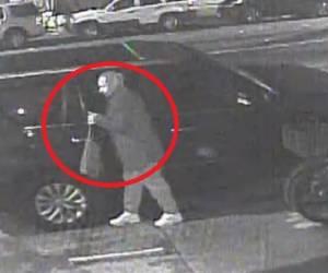 """""""מזהים? פנו למשטרה"""": פרץ למכוניתו של החרדי וגנב 4 פאות • צפו"""