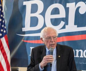 """משנה כיוון: ברני סנדרס: """"מצפה להיות הנשיא היהודי הראשון"""""""
