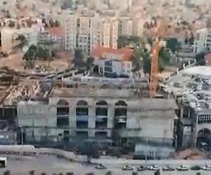 המרכז העולמי: הרחפן תיעד: כך נבנה בית המדרש החדש של גור • צפו