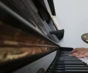 """פסנתר לשבת עם """"י-ה ריבון"""" של מ.ב.ד"""
