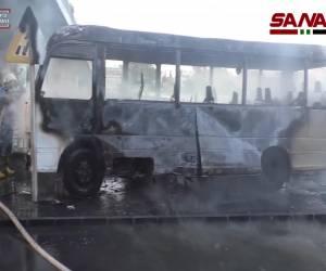 מלחמת אזרחים בסוריה: דמשק: 14 חיילי צבא אסד נרצחו בפיגוע