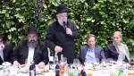 שבע ברכות לבן יוסי אליטוב בהשתתפות רבנים ושרים